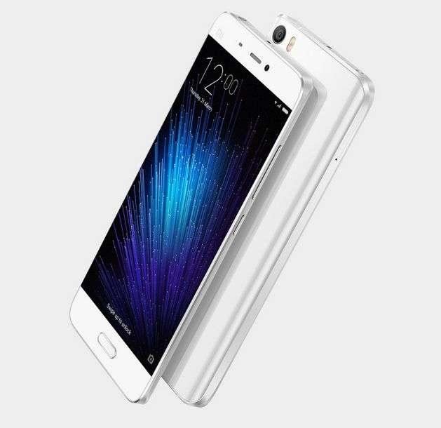 Online Booking of Xiaomi Mi 5 Starts