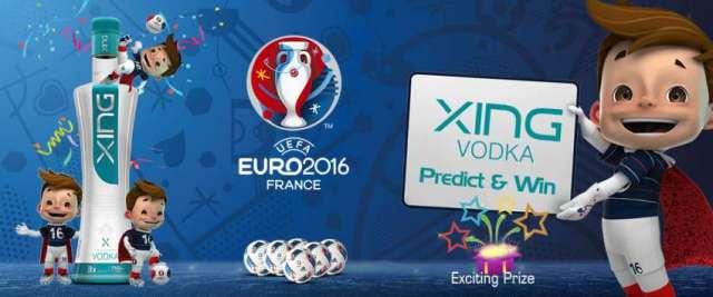 Xing Vodka Euro Cup 2016 Predict & Win Contest