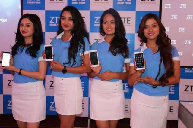ZTE smartphone in Nepal