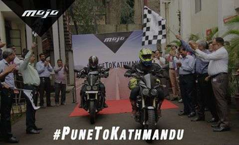 Mahindra Unveiling Premium Motorcycle in NADA Auto Show
