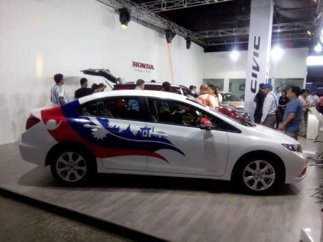 One of the main attraction of the NADA auto show 2016.