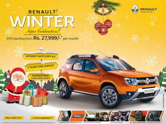 Renault Winter Super Celebration Scheme