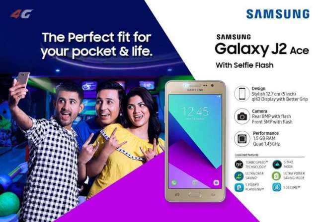 Samsung Launches J2 Ace in Nepali Market