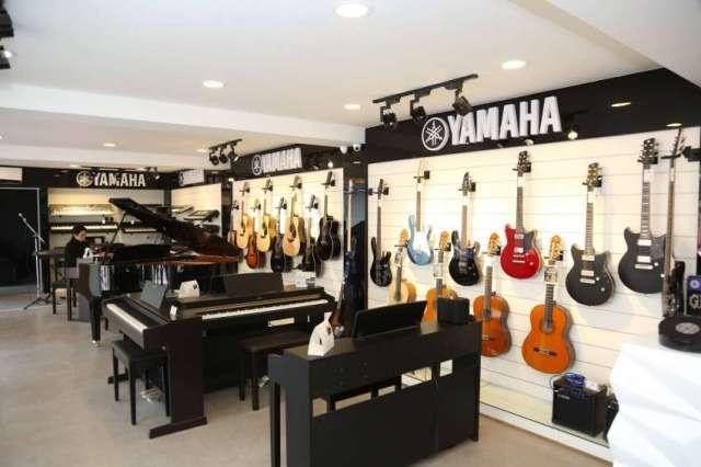 Yamaha Music's showroom in Naxal