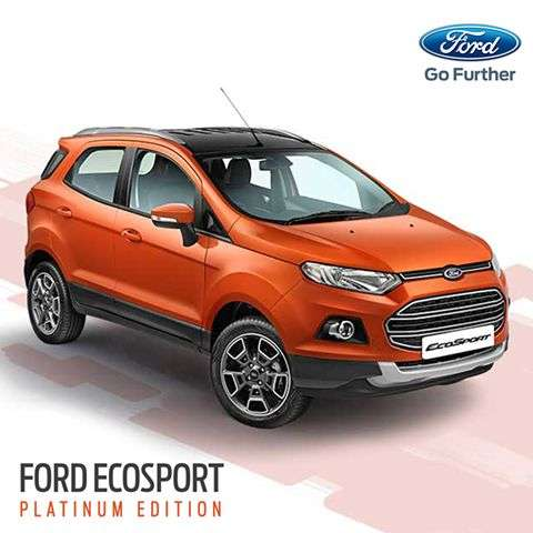 Ford EcoSport Platinum Edition Launched