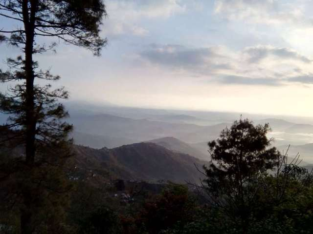 Breathtaking view from Nagarkot.