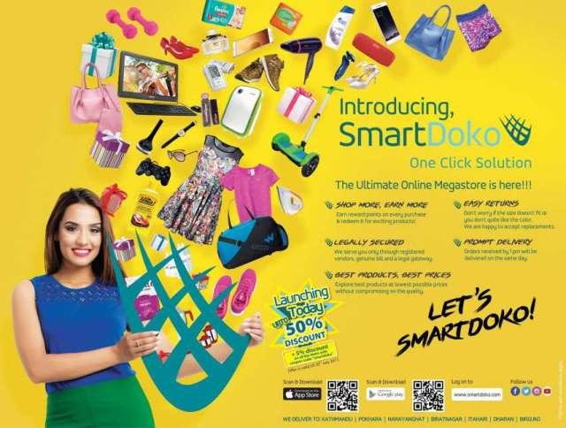 SmartDoko, a Nepali e-commerce portal launched