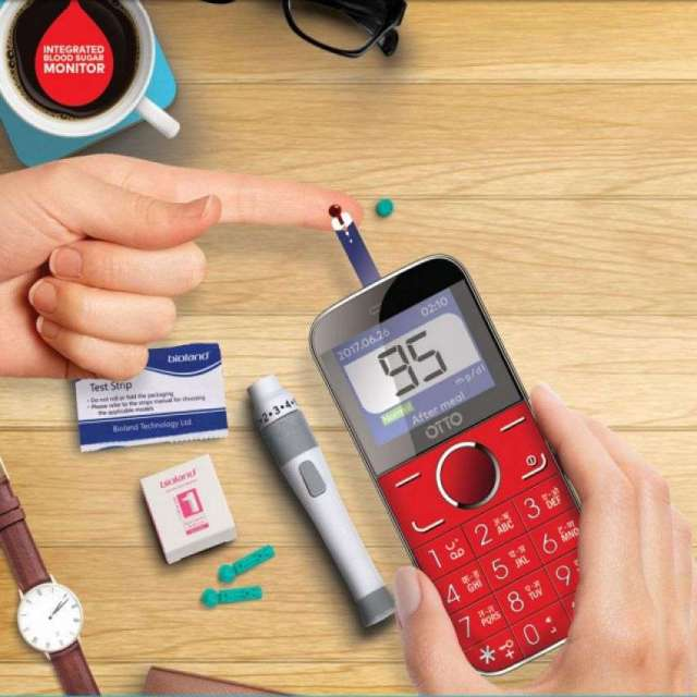 OTTO Chekr, mobile device with a glucose monitor launched
