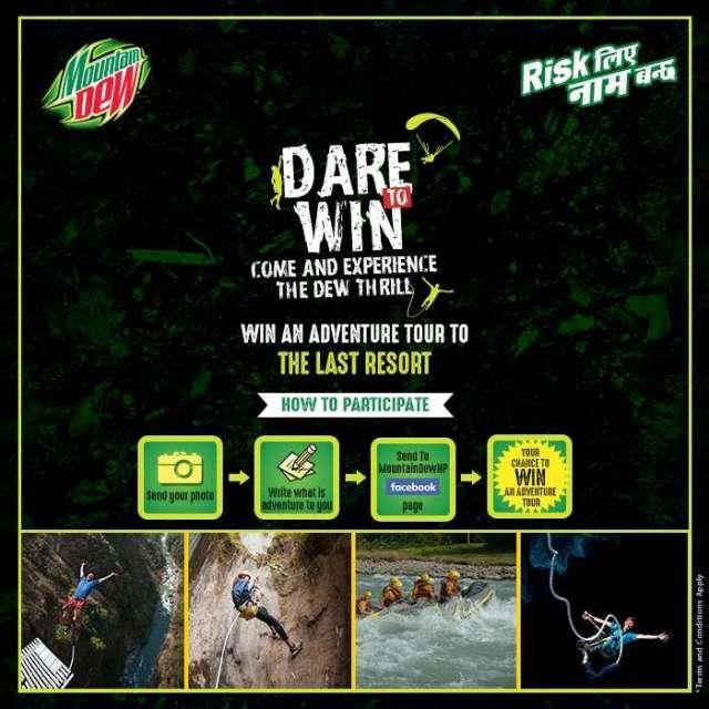 """""""Mountain Dew Dare to Win"""" #DareToWin Contest"""