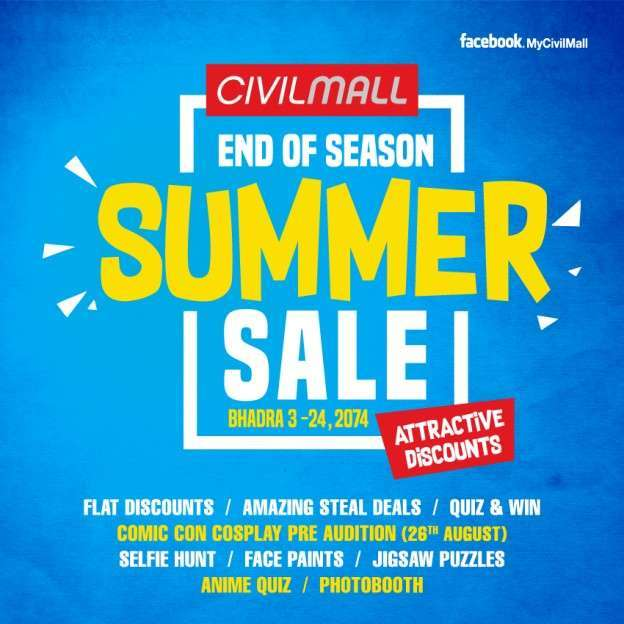 Summer Sale at Civil Mall