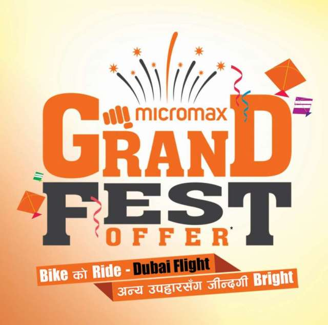 "Micromax launches ""GRAND FEST OFFER"" Campaign"