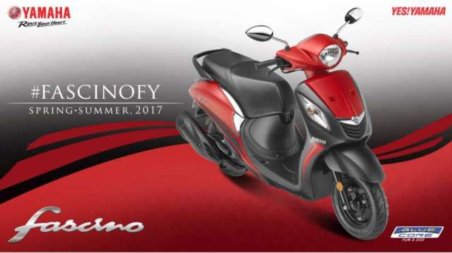 Yamaha Fascino Comes in New Look