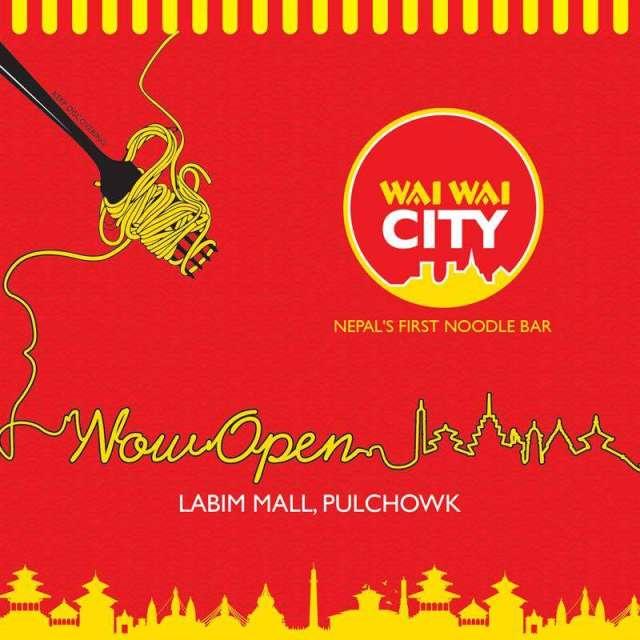Nepal's First Noodle-Bar 'Wai Wai City' Opens at Labim Mall