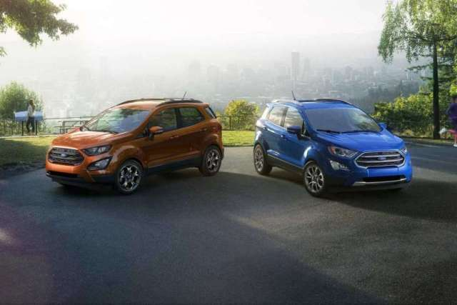 Ford Introduces New EcoSport