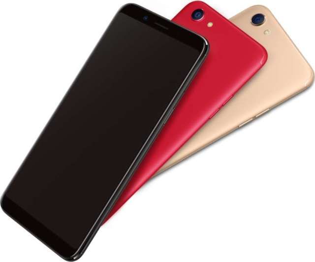 OPPO F5 6GB Variant Launched