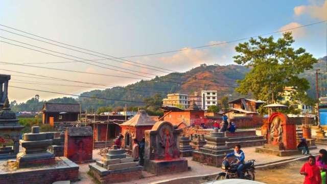 Jyotilingeshwor Mahadev, monument in Shankharapur (Sankhu), Kathmandu