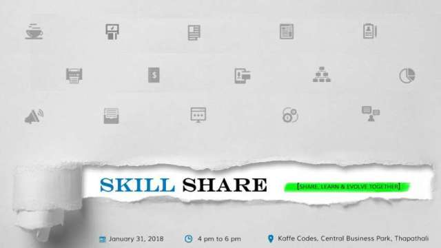 Skill Share Event from January 31