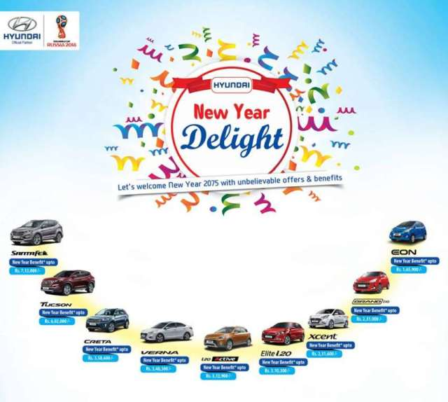Hyundai brings 'New year Delight' offer