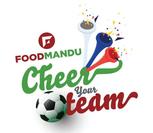 """Foodmandu """"Cheer your team"""" campaign launched"""