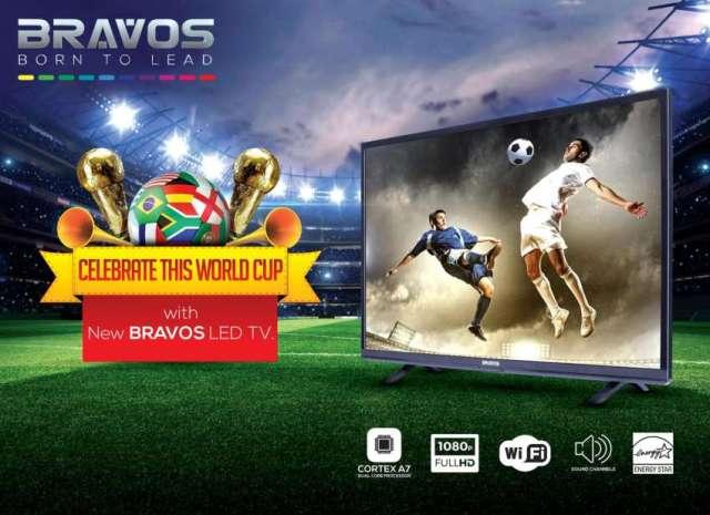 Bravos LED TV sets Launched