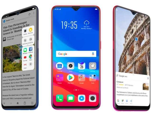 OPPO F9 smartphones in Nepali market