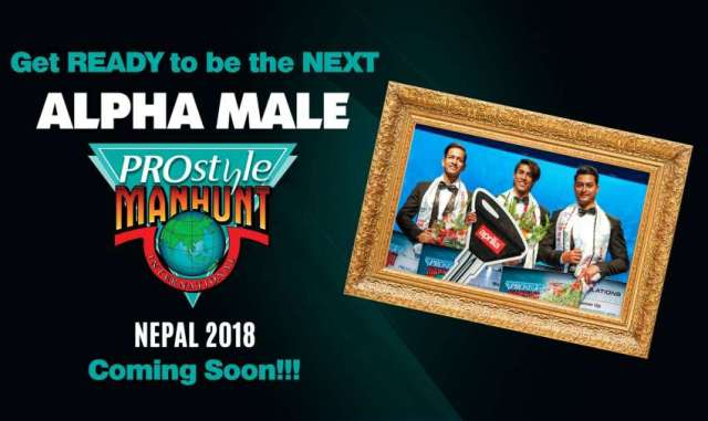 PROstyle Manhunt International Nepal 2018