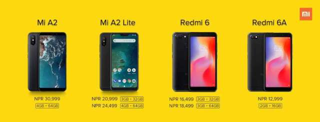 Xiaomi officially enters Nepal, Launches 4 new Models