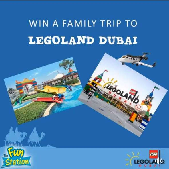 LEGO offers Family Trip to Dubai