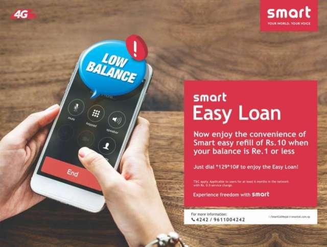 Smart Telecom Offers 'Easy Loan'