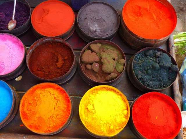 Skin care during holi