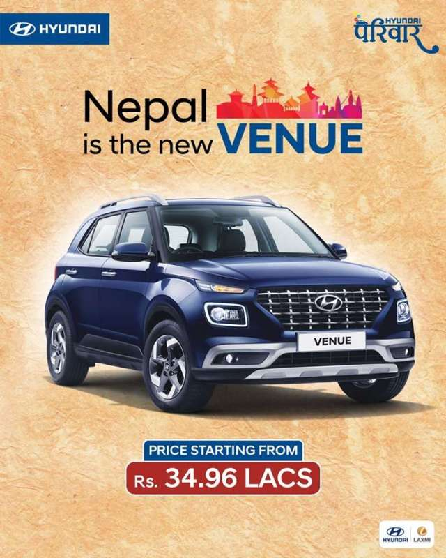 Hyundai Venue in Nepal