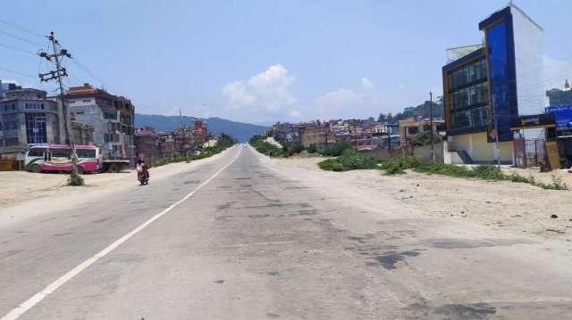 Lock down in Kathmandu.