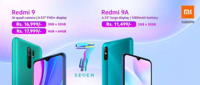 Xiaomi Redmi 9 and Redmi 9A launched in Nepal