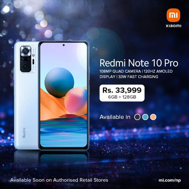 Redmi Note 10 Pro launched in Nepal