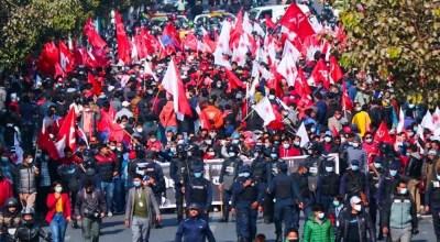 प्रचण्ड-नेपाल समूहको आज काठमाडौँमा शक्ति प्रदर्शन