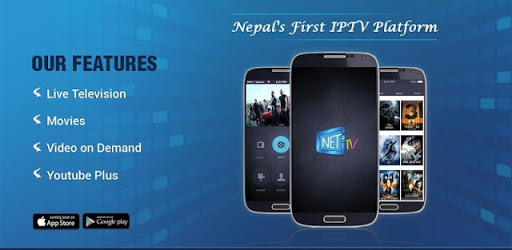 NET TV NEPAL is the First Mobile IPTV Application in Nepal