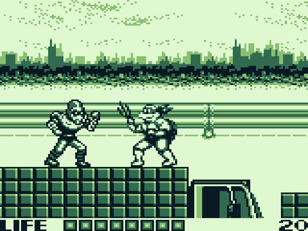 TURN TO CHANNEL 3 Fall Of The Foot Clan Packed Tons Of TMNT Action Into A Tiny Game Boy Cart
