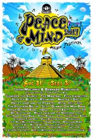 Peace of Mind 2017 Festival Poster