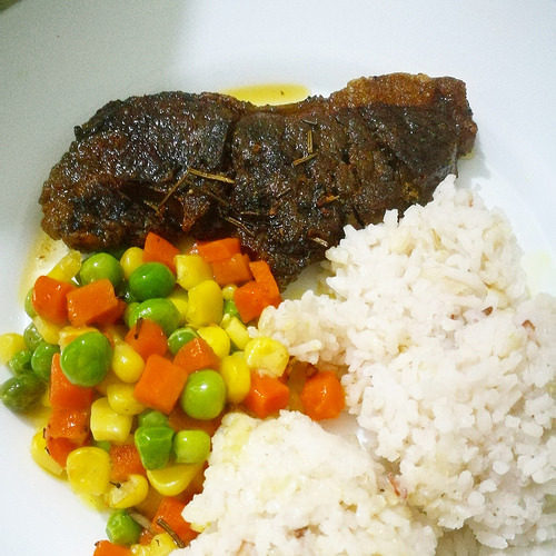 My Herb and Butter-basted Steak Recipe