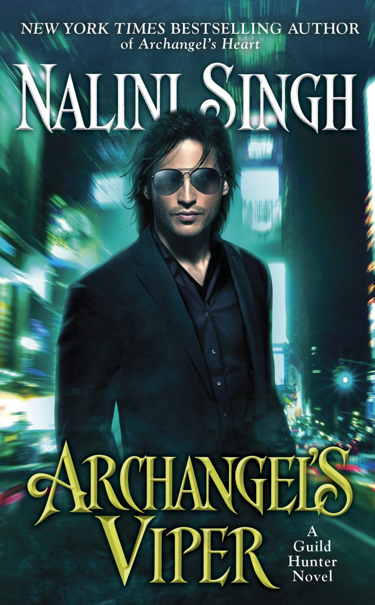 Guild Hunter series: Archangel's Viper by Nalini Singh cover art