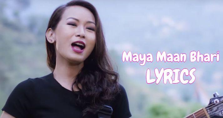 Maya Maan Bhari Lyrics - Trishna Gurung   Trishna Gurung Songs Lyrics, Chords and Tabs   Neplych