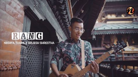 Rang Lyrics and Chords - Brijesh Shrestha and Nikhita Thapa Rang Guitar Chords
