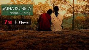 Sajha Ko Bela Lyrics – Trishna Gurung
