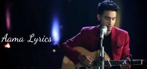 Aama Lyrics – Sushant KC