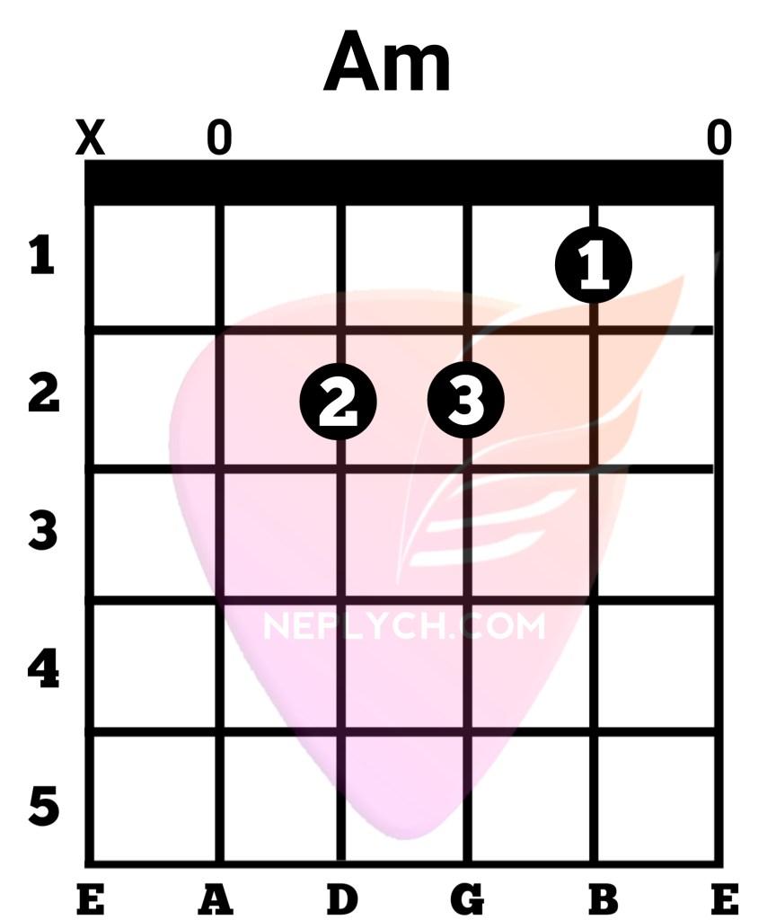 Am Guitar Chord
