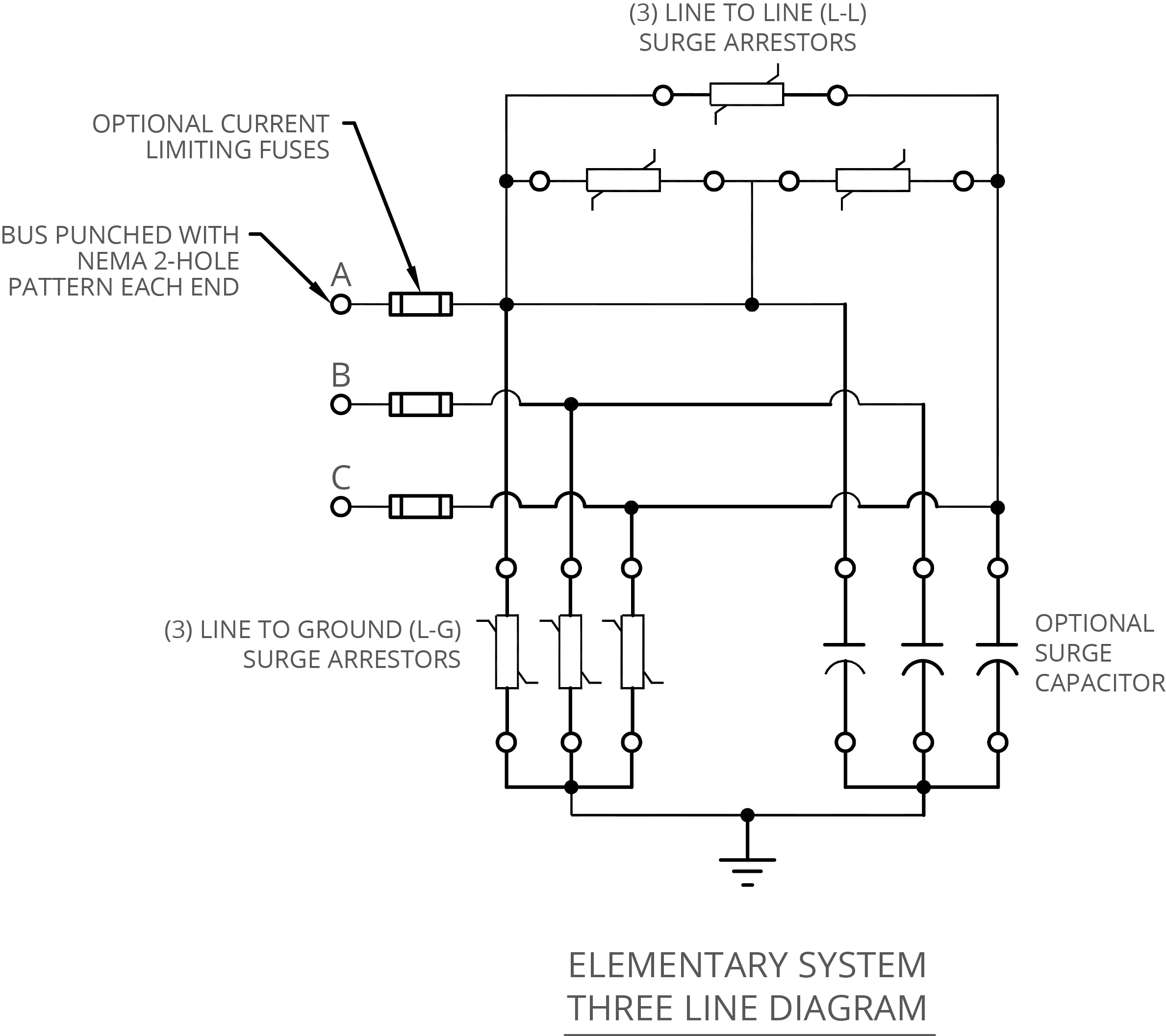 surge arrester wiring diagram 2000 jeep fuse box 3 phase 37