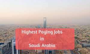 highest paying jobs in saudi arabia