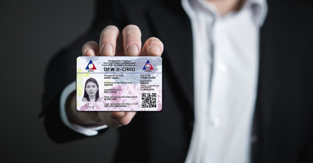 Here is How To Get OFW ID Card Online