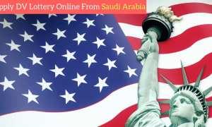 DV Lottery 2020 online registration from Saudi Arabia