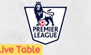epl live table